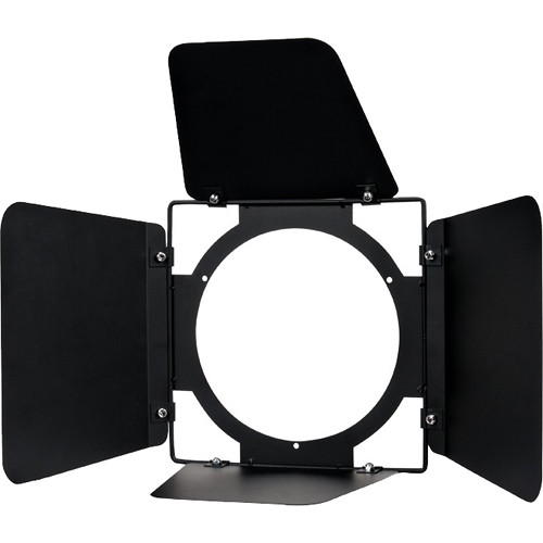 American DJ 4-Way Barndoor Set for COB Cannon Lights (Black)