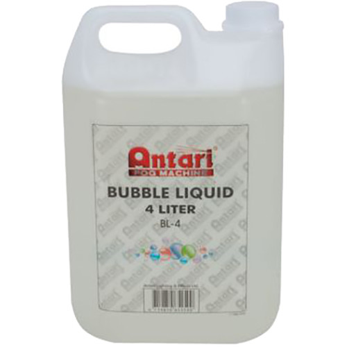 American DJ Antari BL-4 Water-Based Bubble Liquid (1 Gallon)