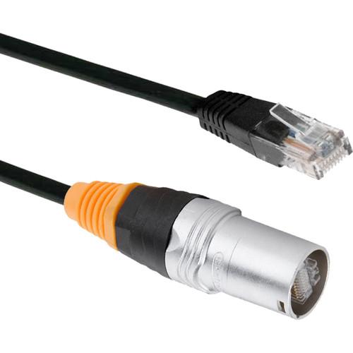 American DJ Seetronic SKE6S-C6 to RJ45 Ethernet Cable (25')