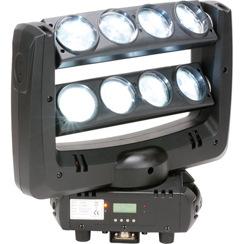 American DJ Crazy 8 Moving Head LED Beam Effect