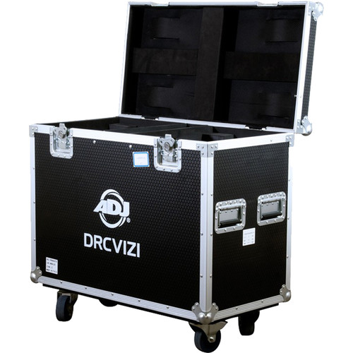 American DJ DRCVIZI Road Case with Wheels