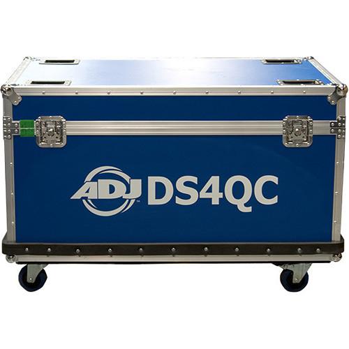 American DJ 10 Pc Flight Case For DS4Qc Quarter Circular Sections
