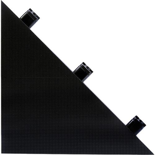 "American DJ Design Series DS4 Triangular Video Panel (20 x 20"",Top Right)"