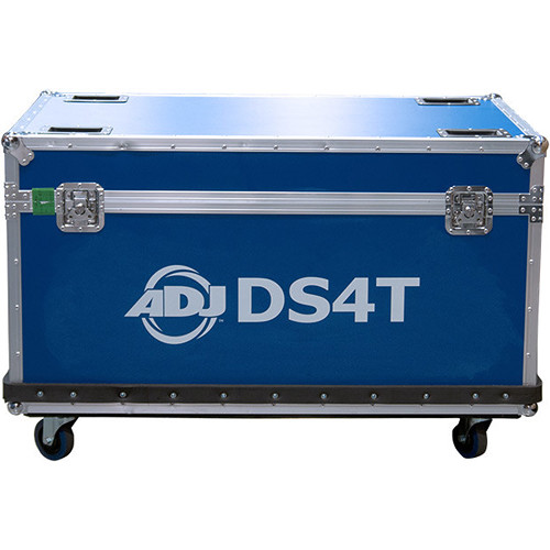 American DJ 10 Pc Flight Case For DS4T Triangle Sections