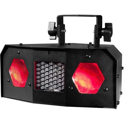 American DJ Dual Gem Pulse IR - Dual Lens Moonflower with Strobe