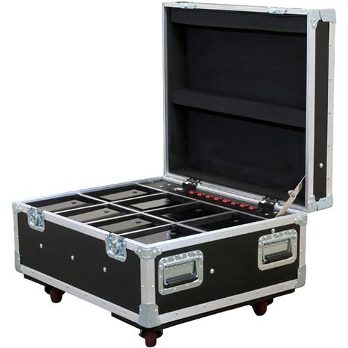 American DJ Wheeled Element FC Flight Case for 8 ADJ Pars (Black)