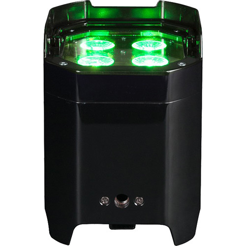 American DJ Element Hex IP - Outdoor Battery-Powered RGBAW+UV LED Par with Wireless DMX (Black)