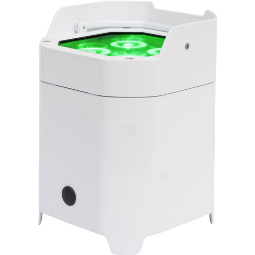 American DJ Element Hex IP - Outdoor Battery-Powered RGBAW+UV LED Par with Wireless DMX (Pearl)