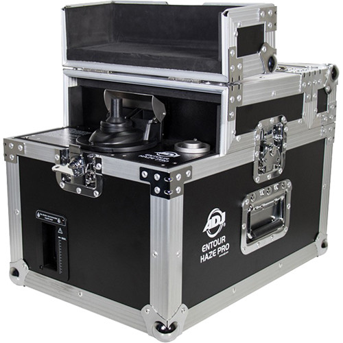 American DJ Entour Haze Pro Touring Haze Machine with Built-In Flight Case
