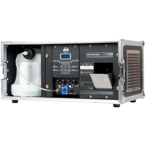 American DJ Entourage 1400W Professional Faze Machine Built into Flight Case