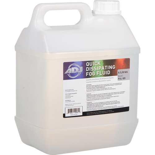 American DJ F4L QD Quick-Dissipating Fog Fluid (4 Liters)
