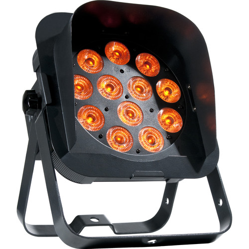 American DJ Flat Par QA12XS - RGBA LED Wash Light with Snoot