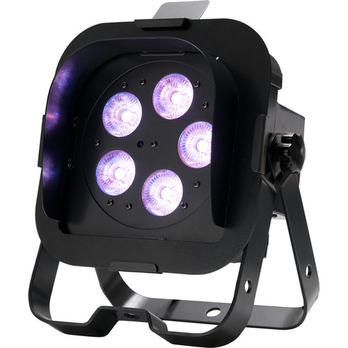 American DJ Flat Par QA5XS - RGBA LED Wash Light with Snoot