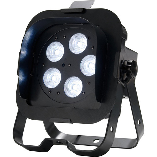 American DJ Flat Par QWH5XS - RGBW LED Wash Light with Snoot