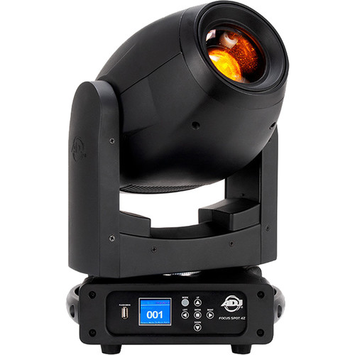 American DJ Focus Spot 4Z 200W LED Moving Head with Motorized Focus & Zoom (Black)