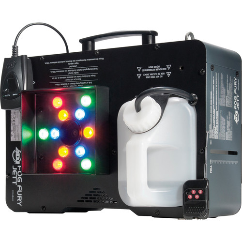 American DJ Fog Fury Jett - RGBA LED Fog Machine
