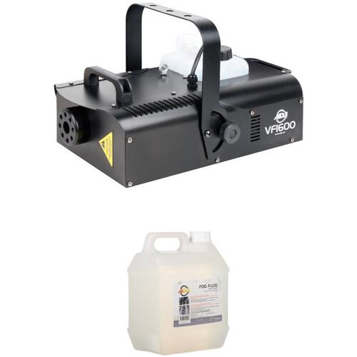 American DJ Fog Machine Kit with VF1600 Fog Machine and 2 x 1-Liter Bottles of Fog Fluid