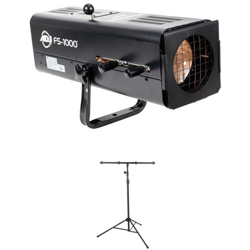 American DJ FS-1000 System with High-Powered Follow Spot and Tripod