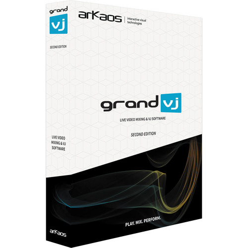 American DJ GrandVJ 2.0 8-Layer VJ Software for Real-Time HD Video Mixing