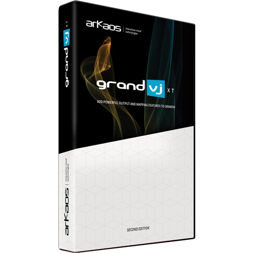 American DJ Grand VJ 2.0XT by Arkaos - VJ Software With Video Mapping Extension (Version 2)