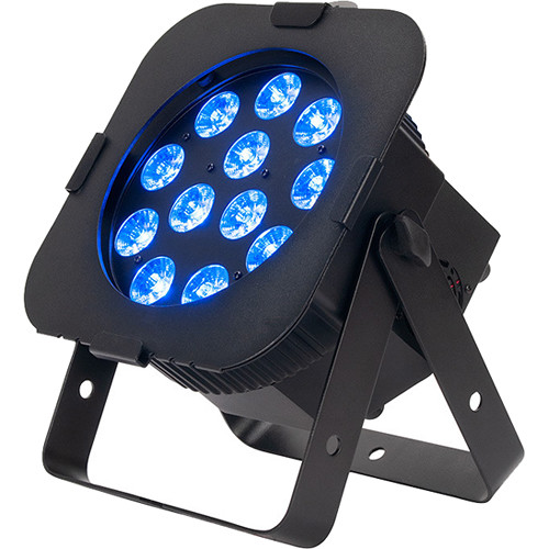 American DJ 12PX HEX LED Par Fixture (RGBAW+UV, Black)