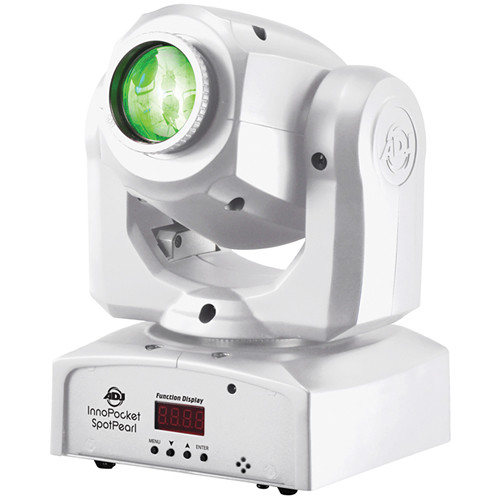 American DJ Inno Pocket Spot - Compact LED Moving Head Light (Pearl)