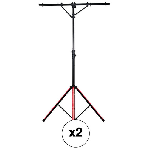 American DJ LTS Color T-Bar Stand with LED Legs (2-Pack)