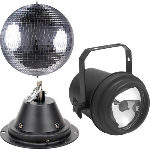 American DJ M-600L Mirror Ball with Pinspot