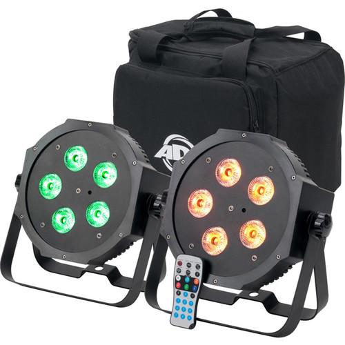 American DJ Mega 64 HEX Pak LED PAR Kit