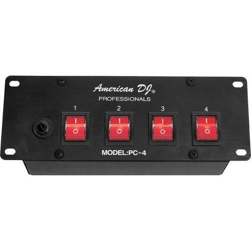 American DJ PC-4 4-Channel A/C Power Center