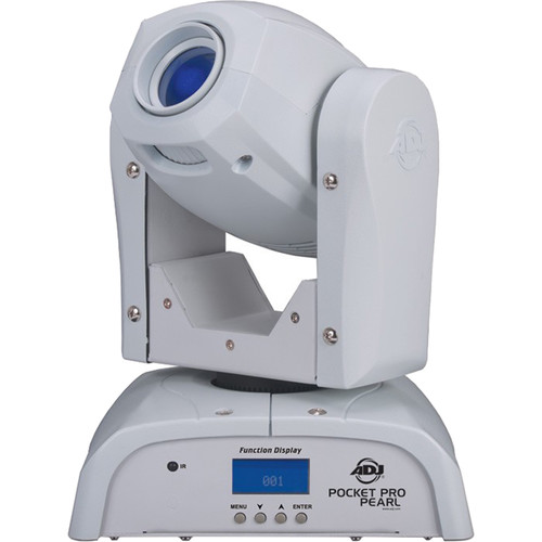 American DJ Pocket Pro Pearl - Compact LED Moving Head Light (White)