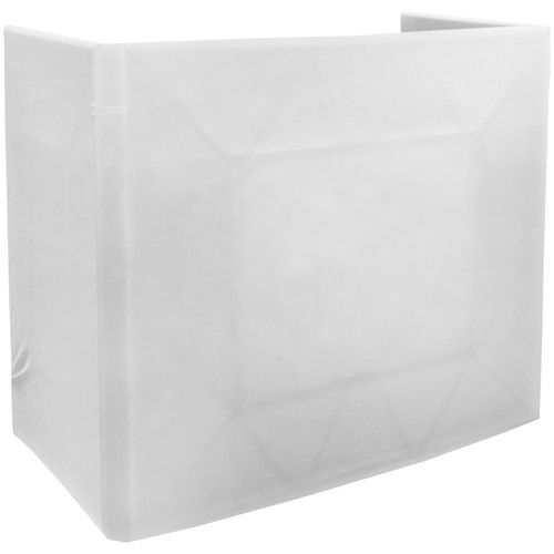 American DJ Pro Event Table Scrim with Transport Bag (White)