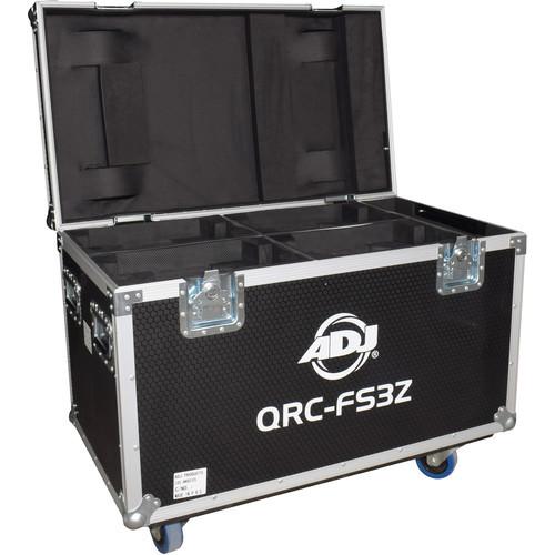 American DJ Road Case for Four Focus Spot Three Z/Z Pearl/Vizi Beam RXONE Moving Heads