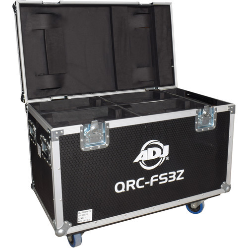American DJ Road Case for Four Focus Spot Three Z/Z Pearl/Vizi Beam RXONE Moving Heads
