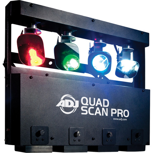 American DJ Quad Scan Pro LED Fixture