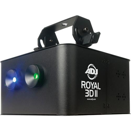American DJ Royal 3D II Violet Blue/Green Laser Light