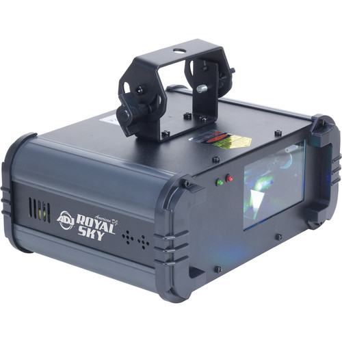 American DJ Royal Sky 6-Channel DMX Intelligent, Green, & Blue Laser Fixture