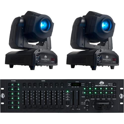 American DJ Inno Spot and DMX Operator 384 Pak Kit