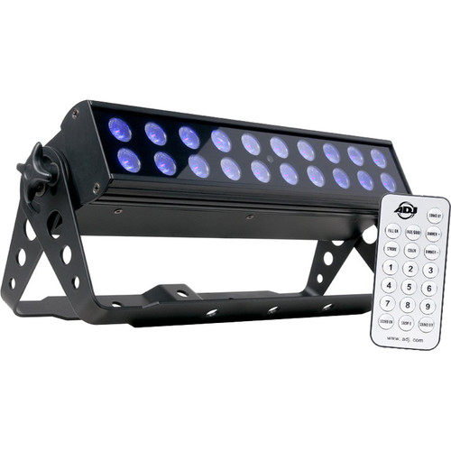 American DJ UV LED BAR20 IR Backlight with UC IR Remote Control