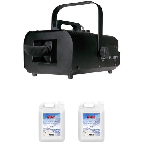 American DJ VF Flurry Snow Machine with Snow Fluid Kit