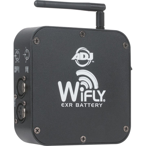 American DJ WiFLY EXR Battery Powered Transceiver