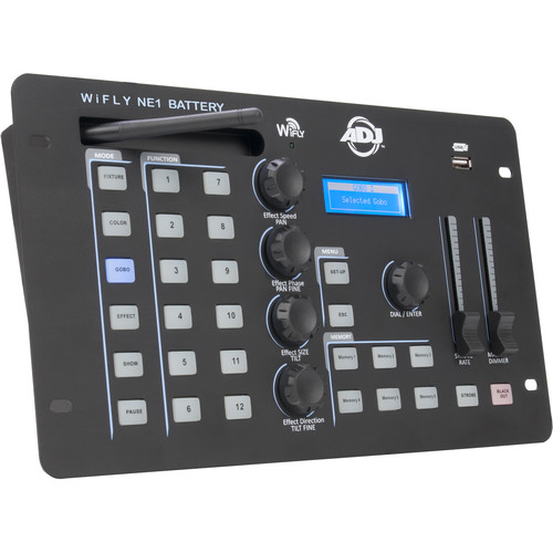 American DJ WiFLY NE1 Battery - DMX Controller and WiFLY Transceiver