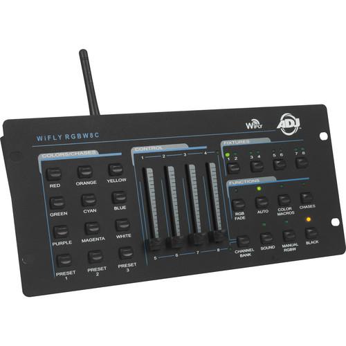 American DJ WiFly RGBW8C DMX Wireless Controller
