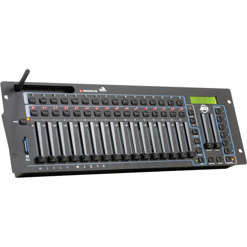 American DJ WiFLY WLC16 512-Channel DMX Controller with Built-In WiFly