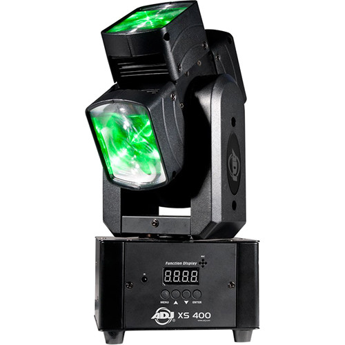 American DJ XS 400 - Quad-Lens Single-Axis Continuous Moving Head Fixture