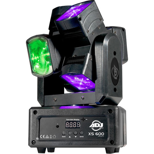American DJ XS 600 - Hex-Lens Dual-Axis Continuous Moving Head Fixture