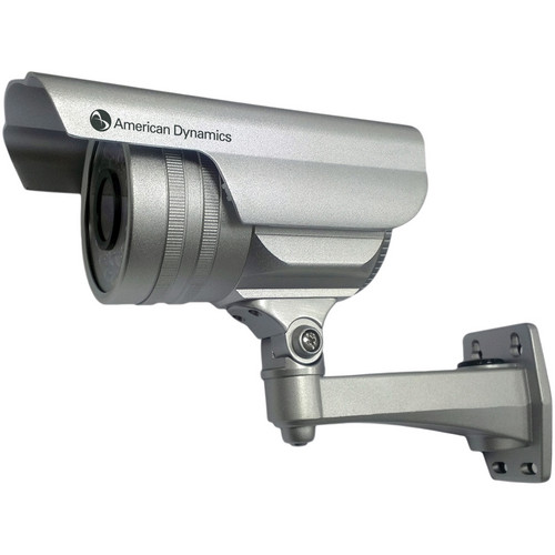 American Dynamics Discover 300 Outdoor Bullet Camera with Varifocal Lens (Silver, PAL)