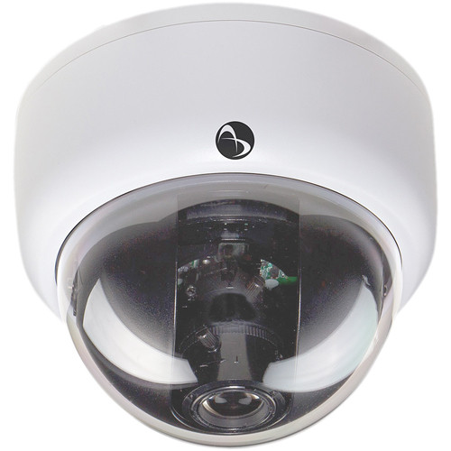 American Dynamics Discover 300 Mini-Dome Indoor Camera with Varifocal Lens (White, NTSC)