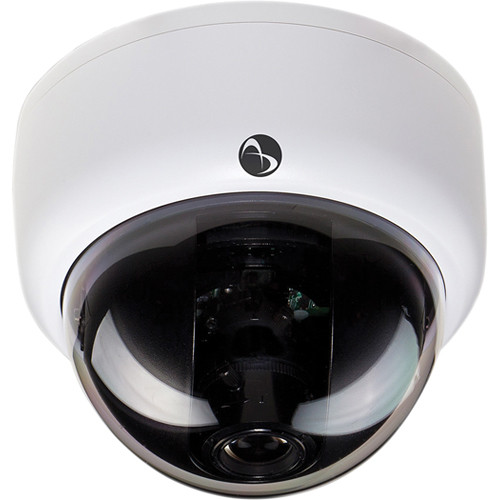 American Dynamics Discover 300 Mini-Dome Indoor Camera with Varifocal Lens (White, PAL)