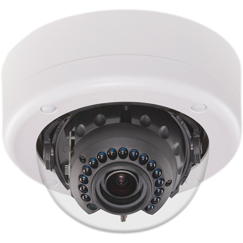 American Dynamics Discover 500 Mini-Dome Outdoor Camera with Varifocal Lens (Black, NTSC)